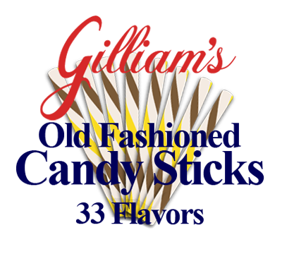 33 Flavors of Old Fashioned Candy Sticks