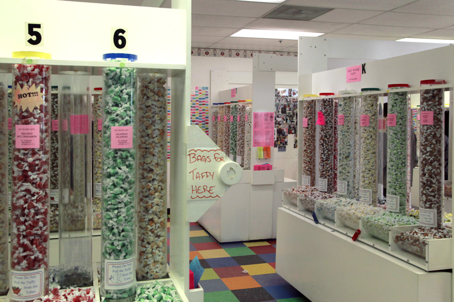 The Seaside Candyman Taffy Aisles